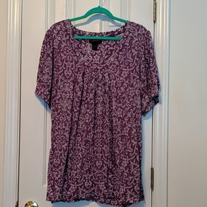 Purple Torrid Blouse